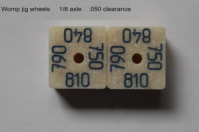 Click image for larger version.  Name:womp jig wheels.jpg Views:4 Size:88.3 KB ID:18149